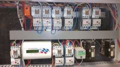 The controller in the bottom left of this photo was retrofitted following an audit, reducing HVAC energy use by around 10%