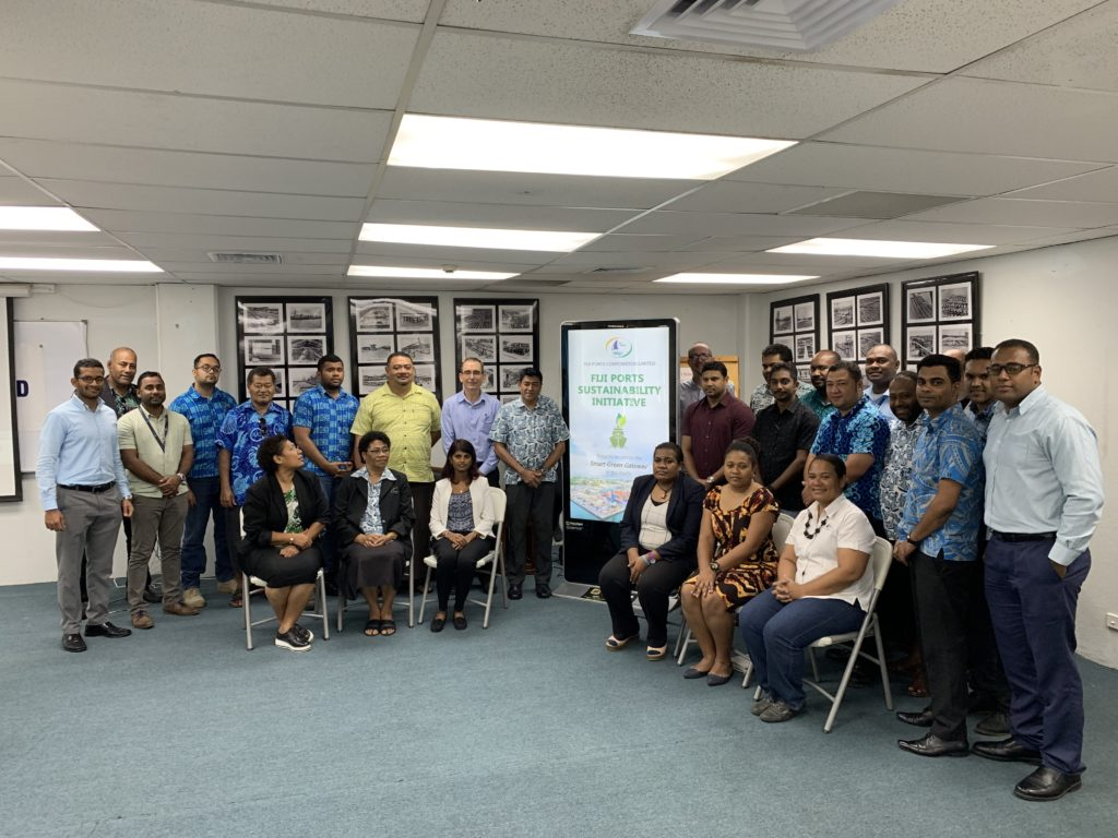 Sustainability Master Planning Consulting with Fiji Ports