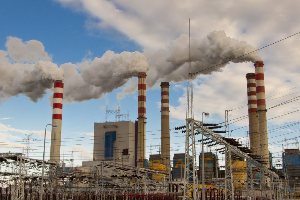 Coal power station not reducing carbon emissions