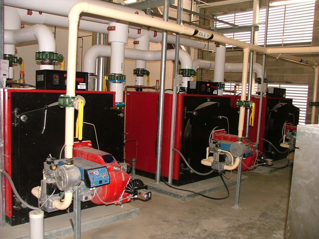 Plant room - energy efficiency strategy